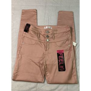 NO BOUNDARIES JUNIORS SKINNY PANTS SIZE 9 A17